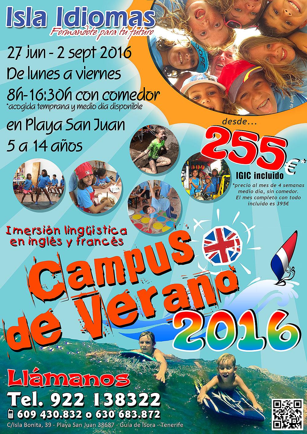 Campus Lingüístico de Verano Isla Idiomas
